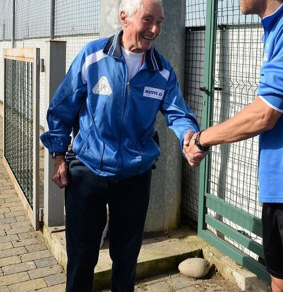 Antonio Nacca l'atleta di 93 anni