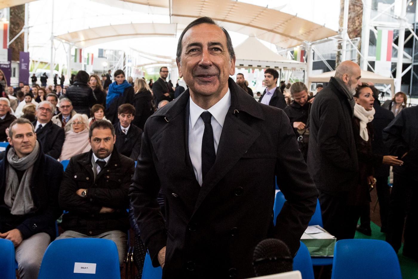 Milano, anniversario dell'apertura di Expo Milano 2015