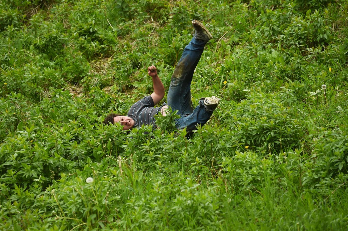 Cheese Rolling race 2016
