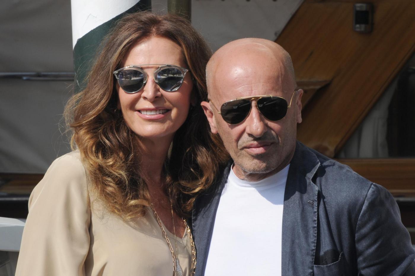 71esima Mostra del Cinema di Venezia, Daniela Santanchè e Alessandro Sallusti arrivano alla darsena