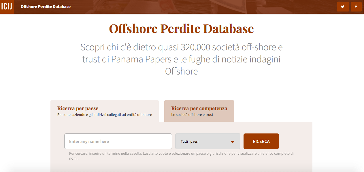 Database Panama Papers