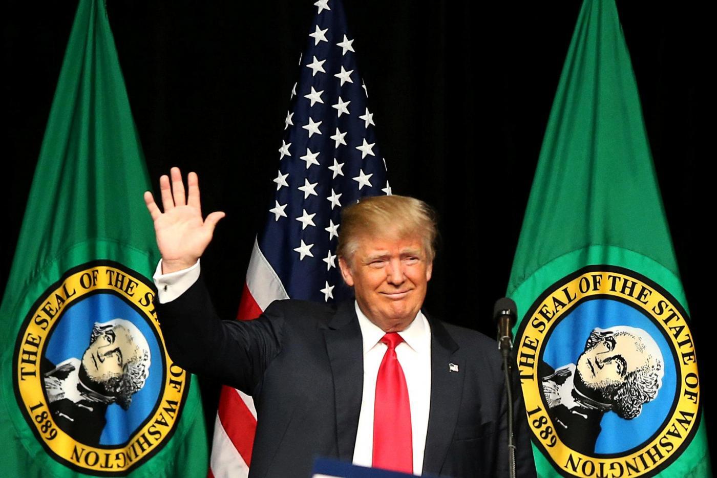 Elezioni Usa, Donald Trump in campagna elettorale