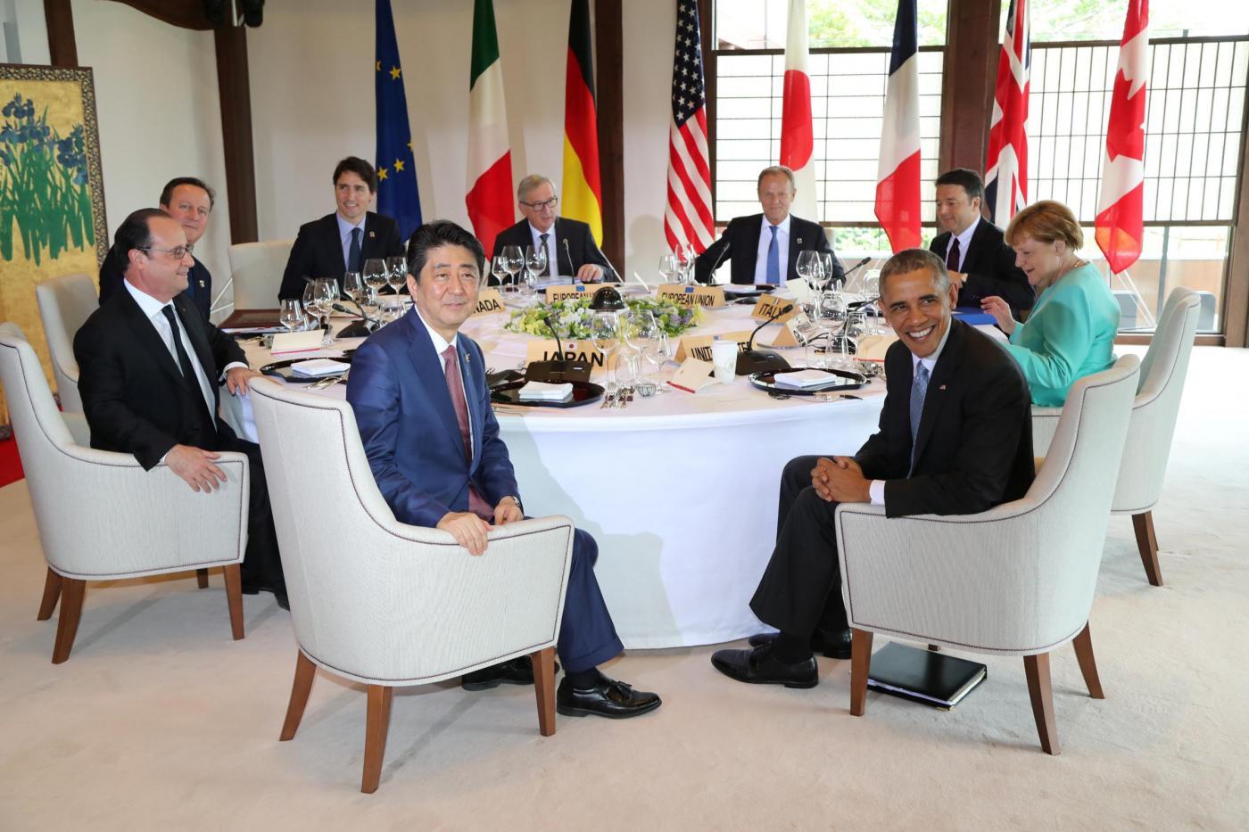 G7 2016: in Giappone si parla di affari, Brexit e terrorismo