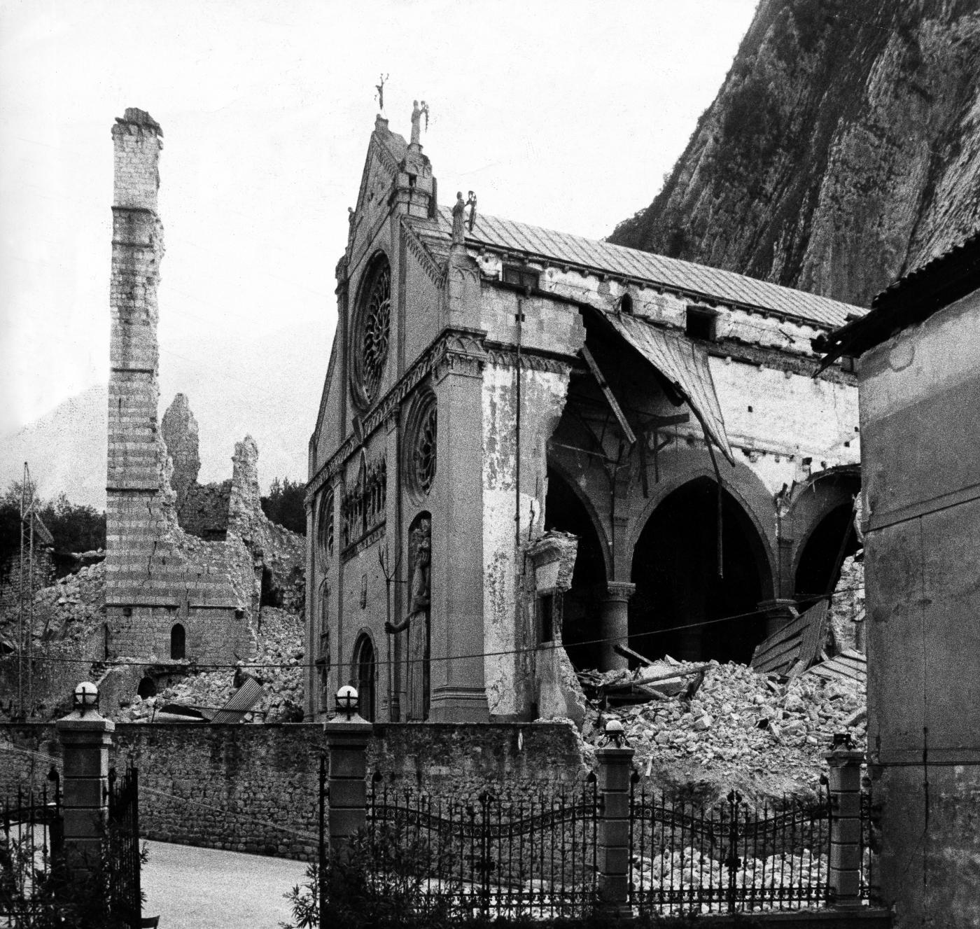 Gemona del Friuli dopo il terremoto