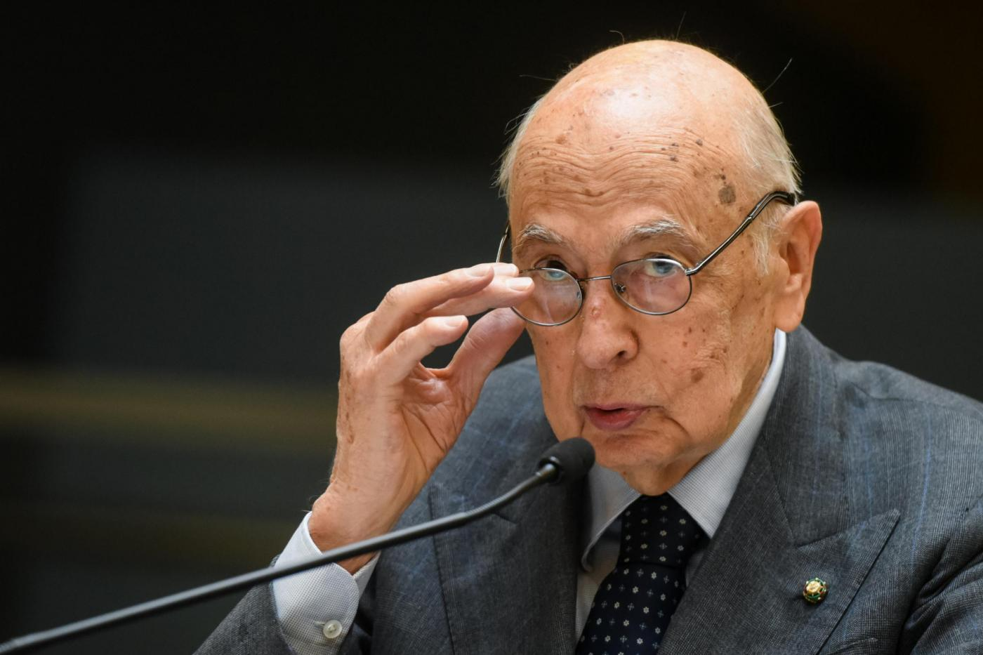 Giorgio Napoltano presidente emerito