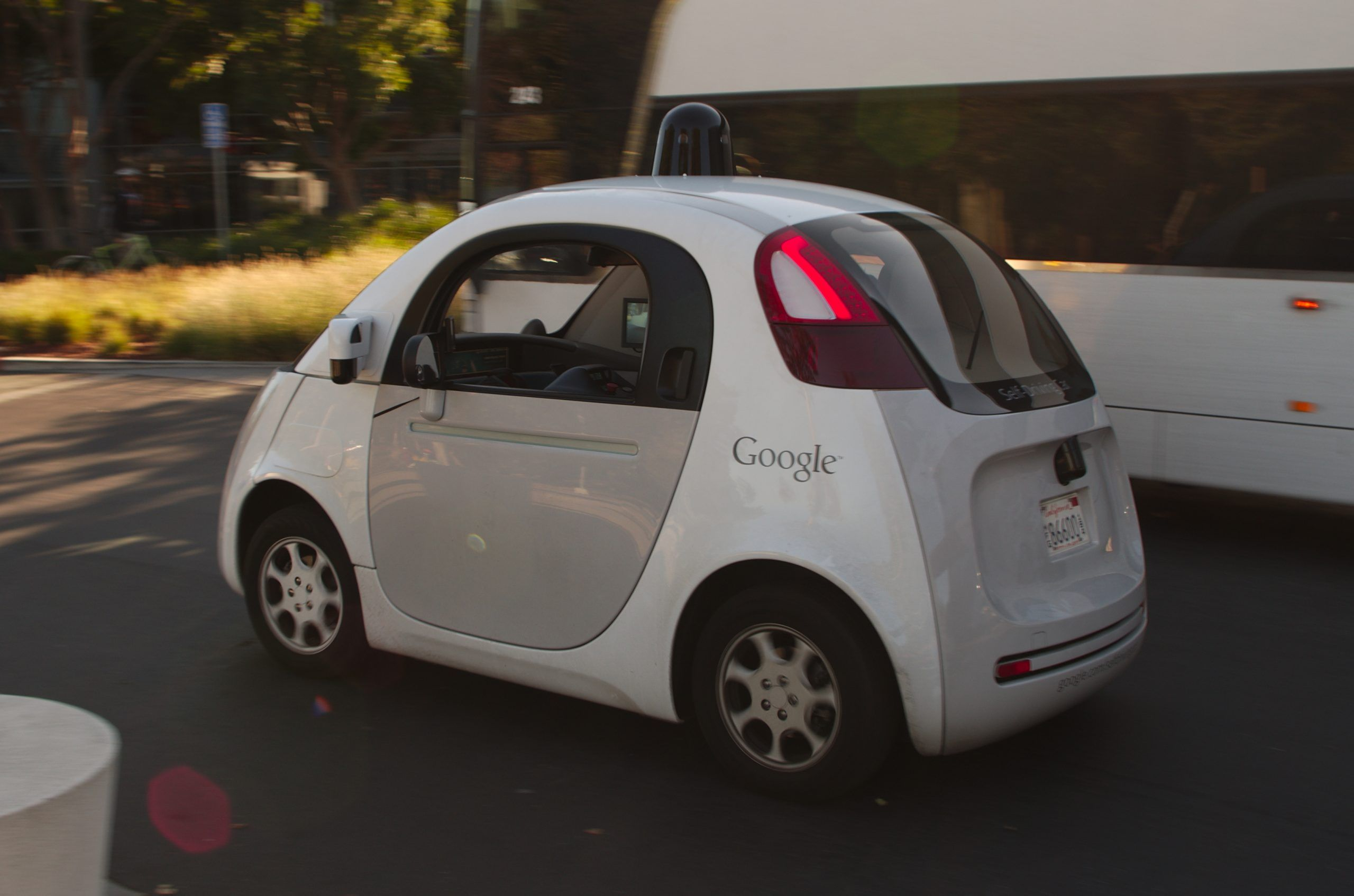 Google macchina self driving