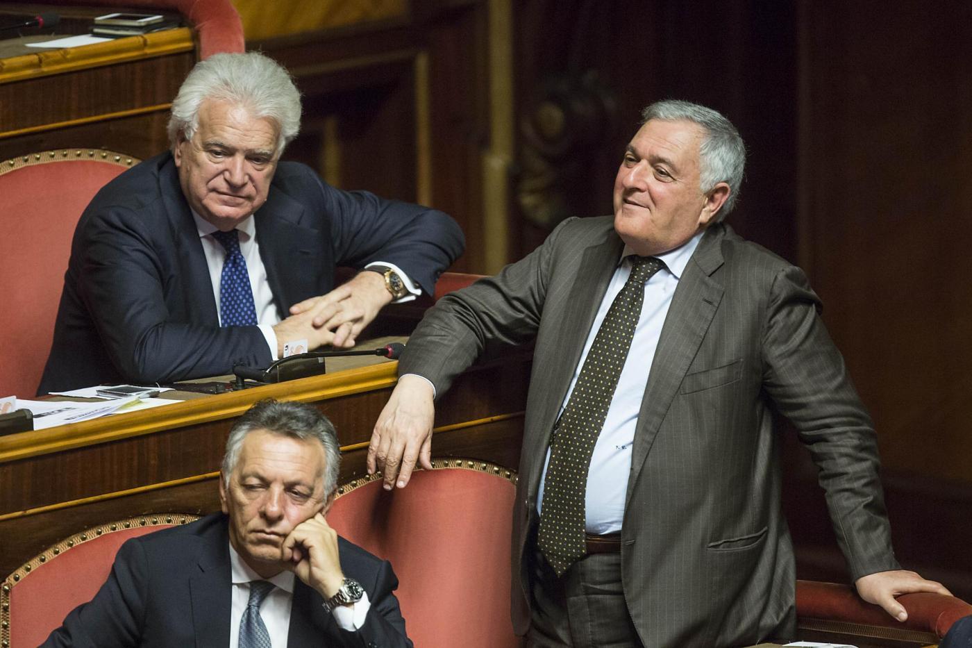 Senato Voto su mozioni di sfiducia al governo Renzi