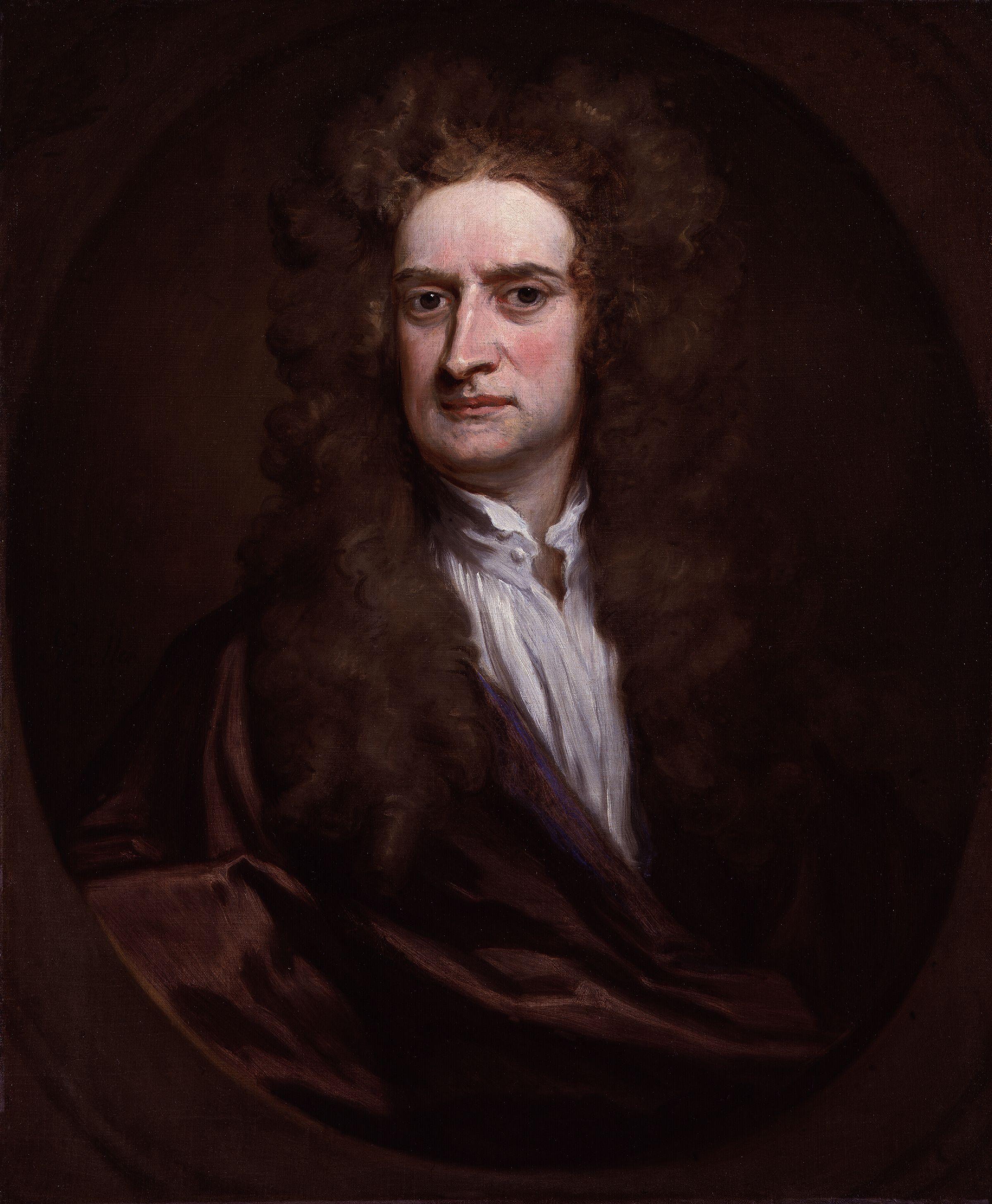 Isaac Newton, fisico e matematico