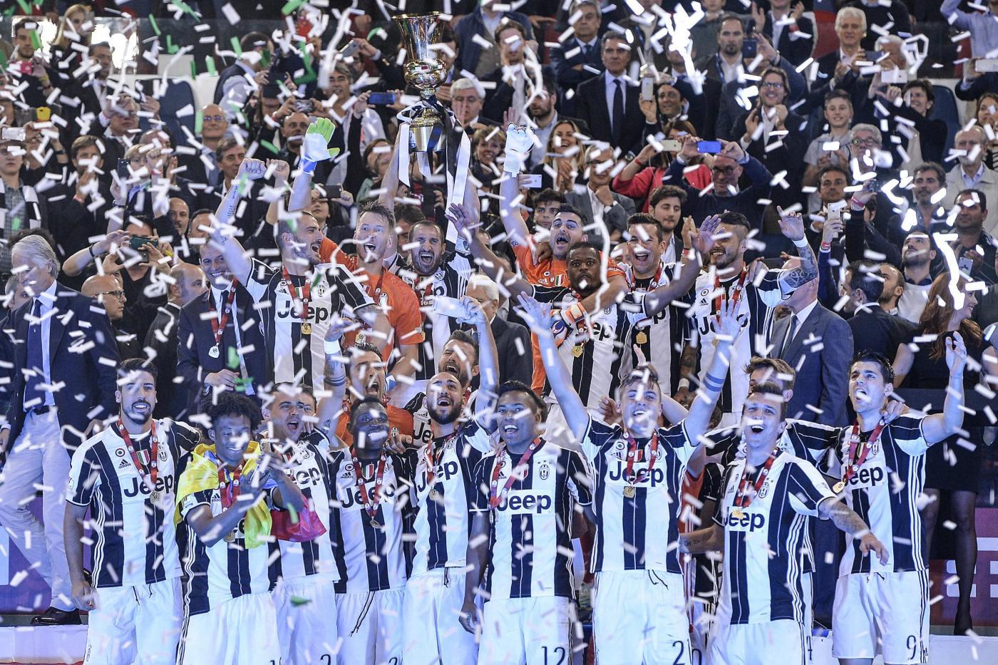 Finale coppa Italia 2016: Milan-Juventus 0-1, gol di Morata