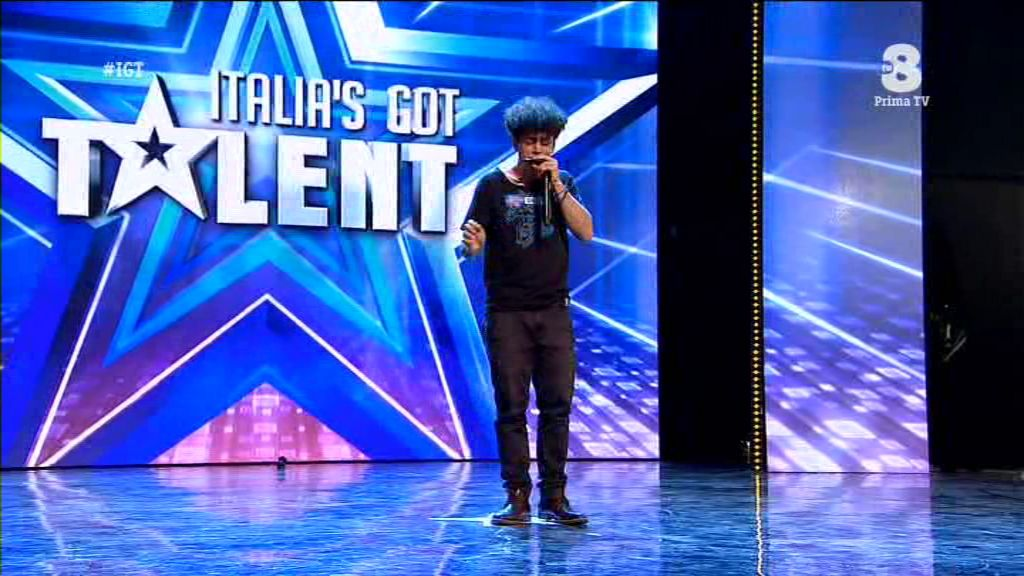 Moses Italia's got talent