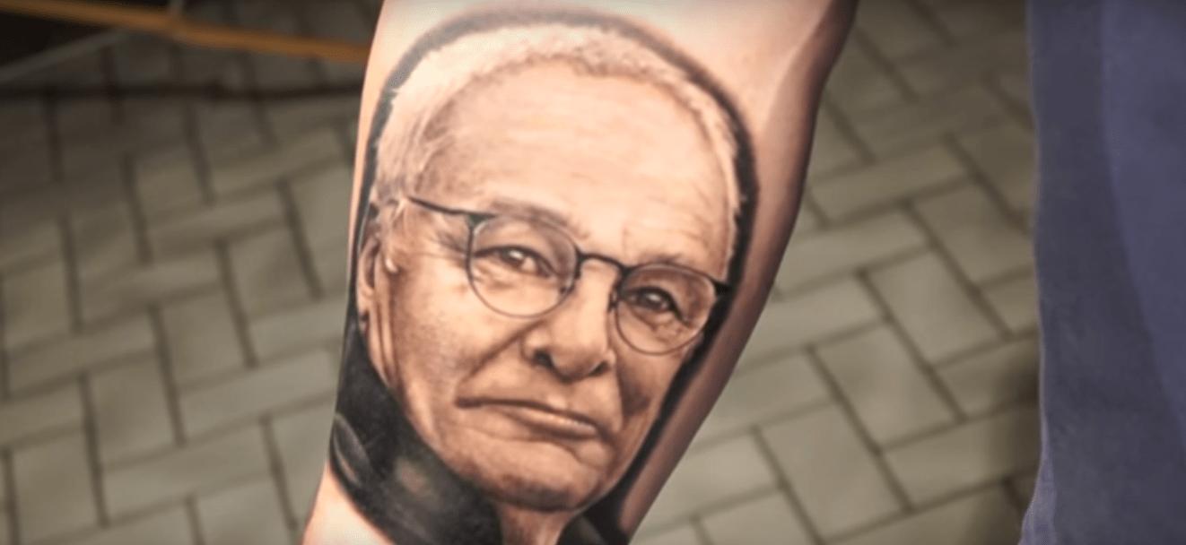 Il tatuaggio di Claudio Ranieri, la moda che spopola tra i tifosi del Leicester