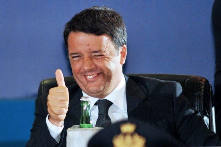 Renzi festeggia