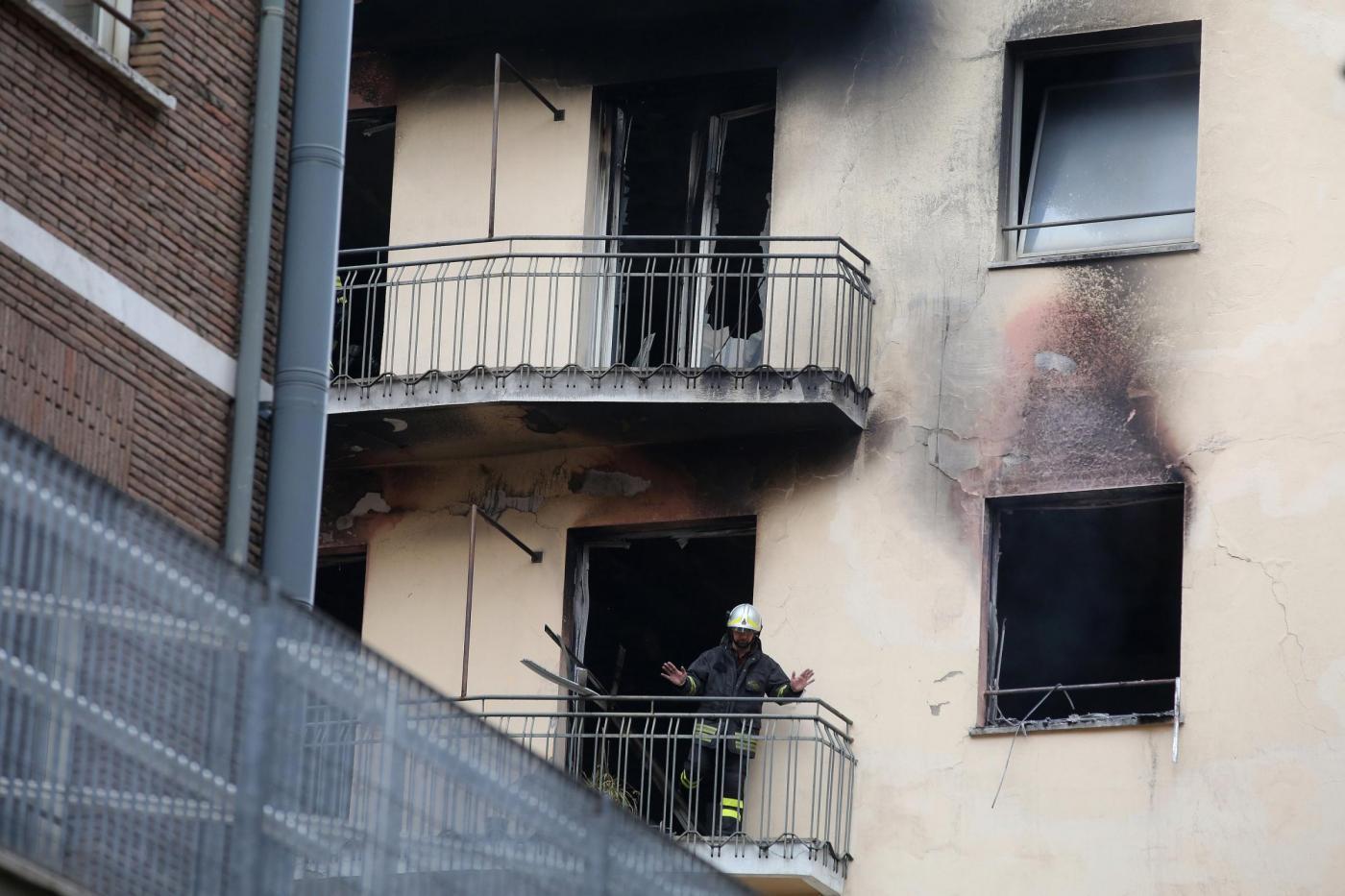 Roma, Incendio in una sede del Ministero dello Sviluppo Economico