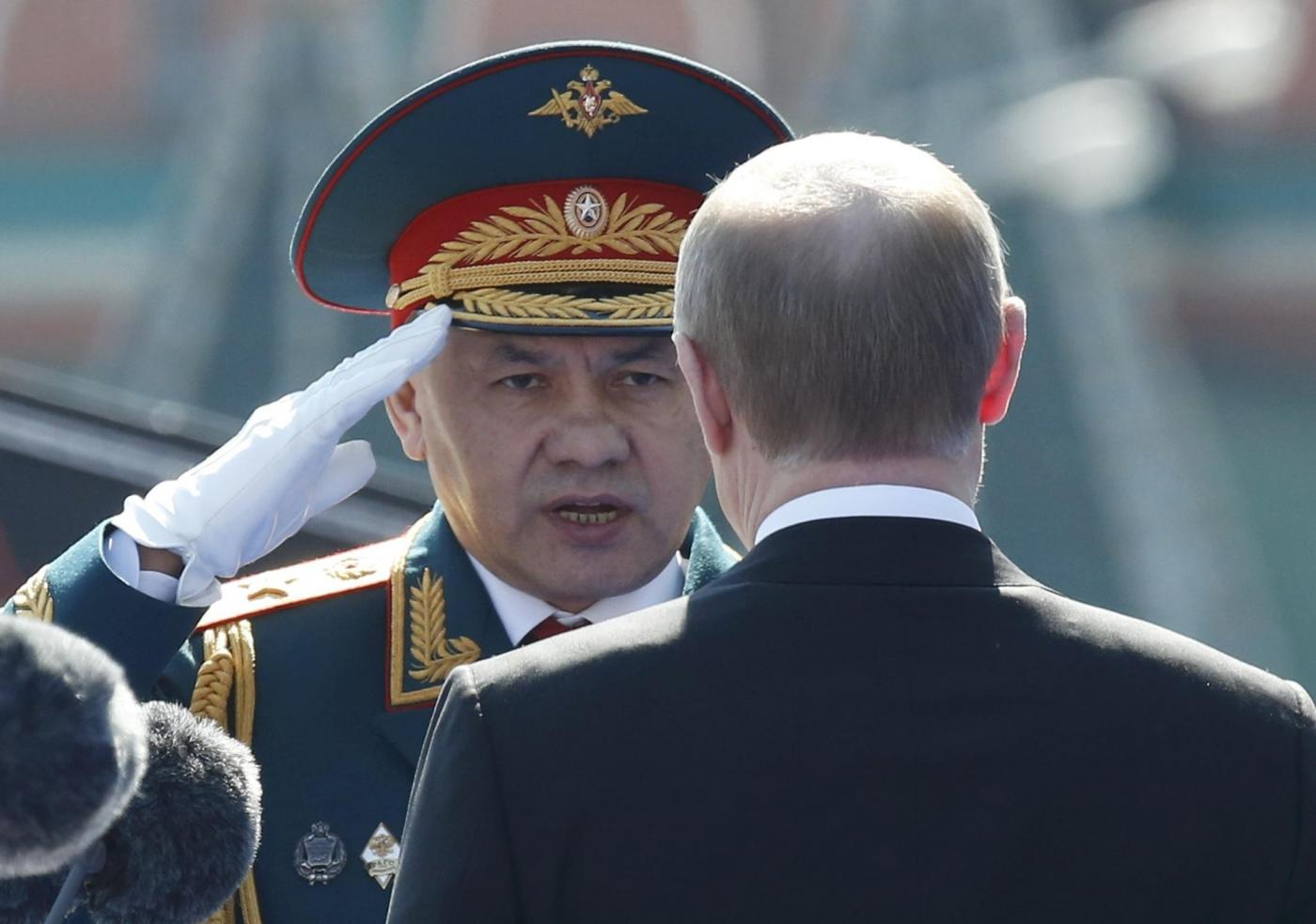 Mosca, la parata per il