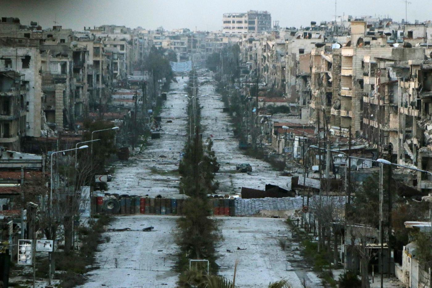 Siria, 48 ore di tragua tra le rovine di Aleppo