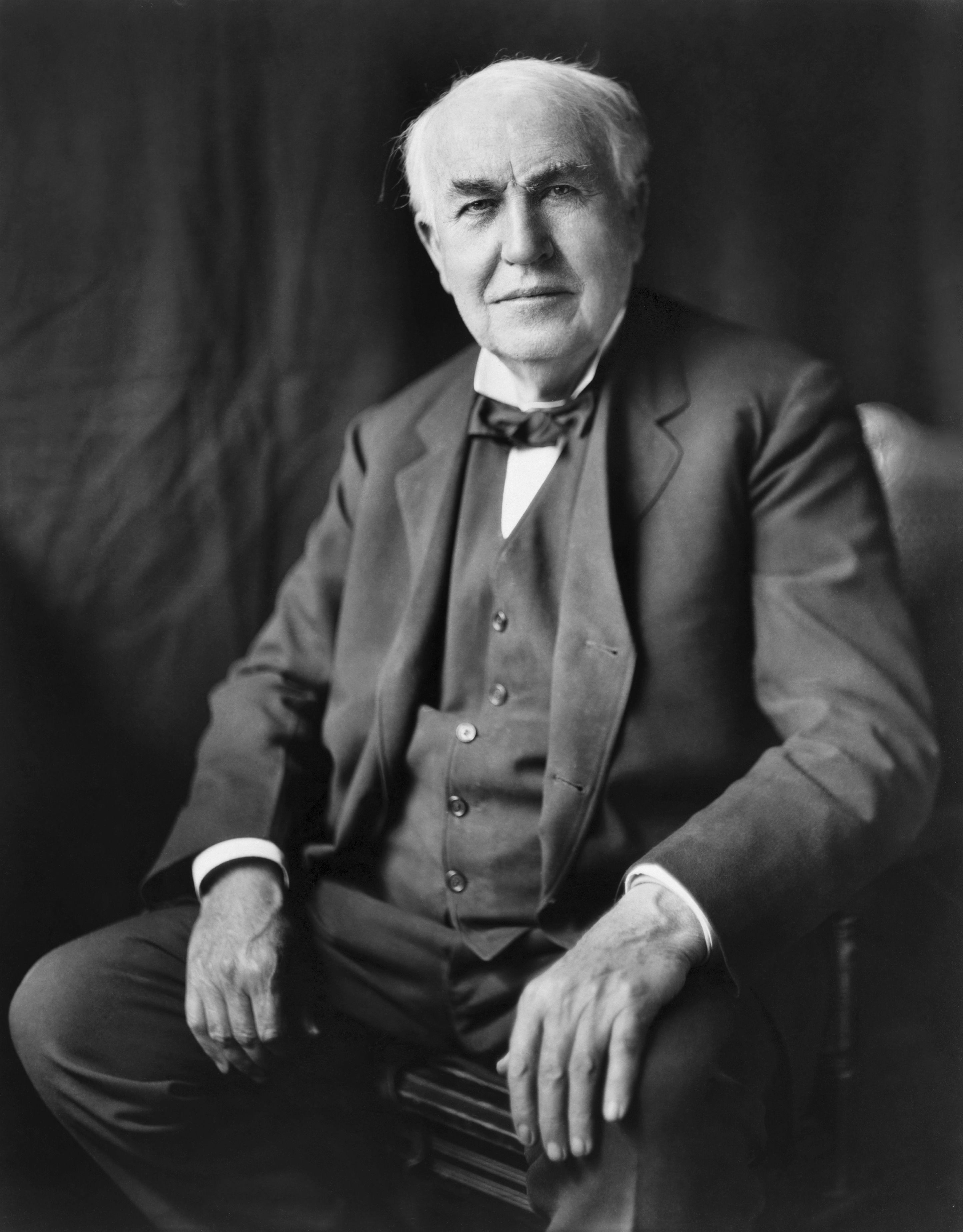 Thomas Edison, inventore