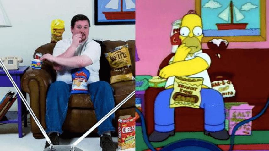 L'uomo che si crede Homer Simpson