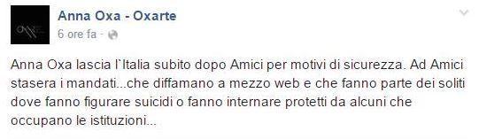 anna oxa facebook 1