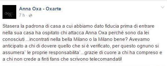 anna oxa facebook 2