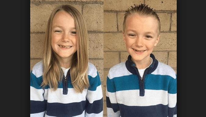 Bimbo dona i suoi capelli per aiutare chi ha il cancro, poi scopre di essere malato