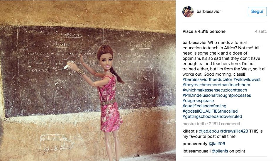 barbie savior maestra