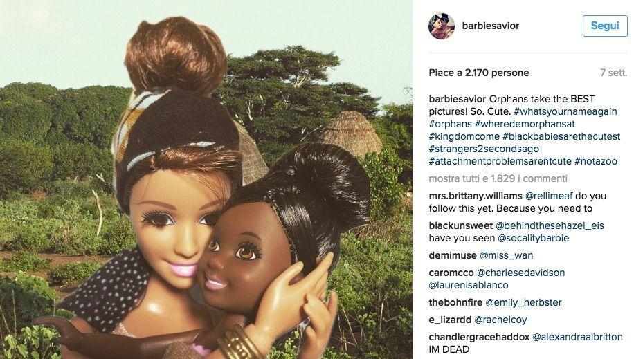 barbie savior orfana carina