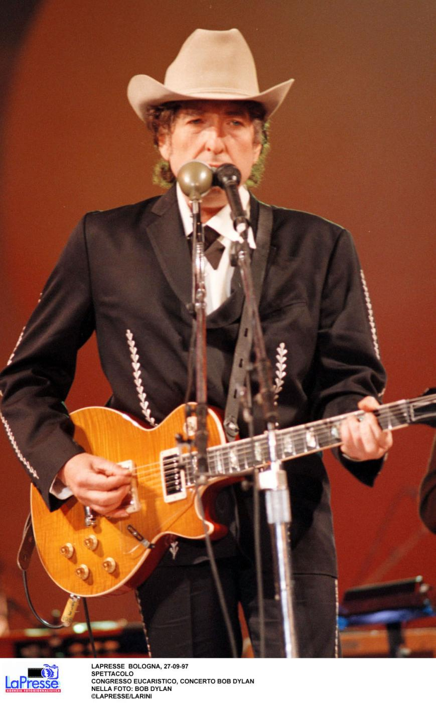 bob dylan, cantante