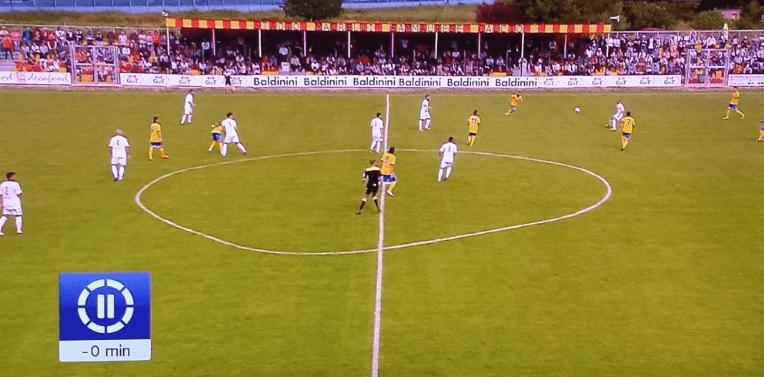Il campo di calcio più strano è quello della Sammuarese