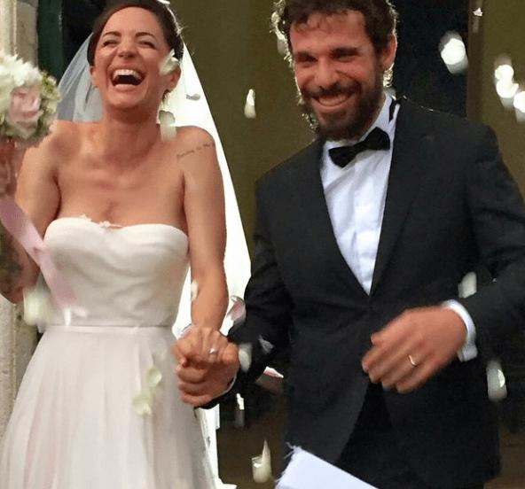Andrea Delogu e Francesco Montanari si sono sposati: matrimonio e festeggiamenti a Roma