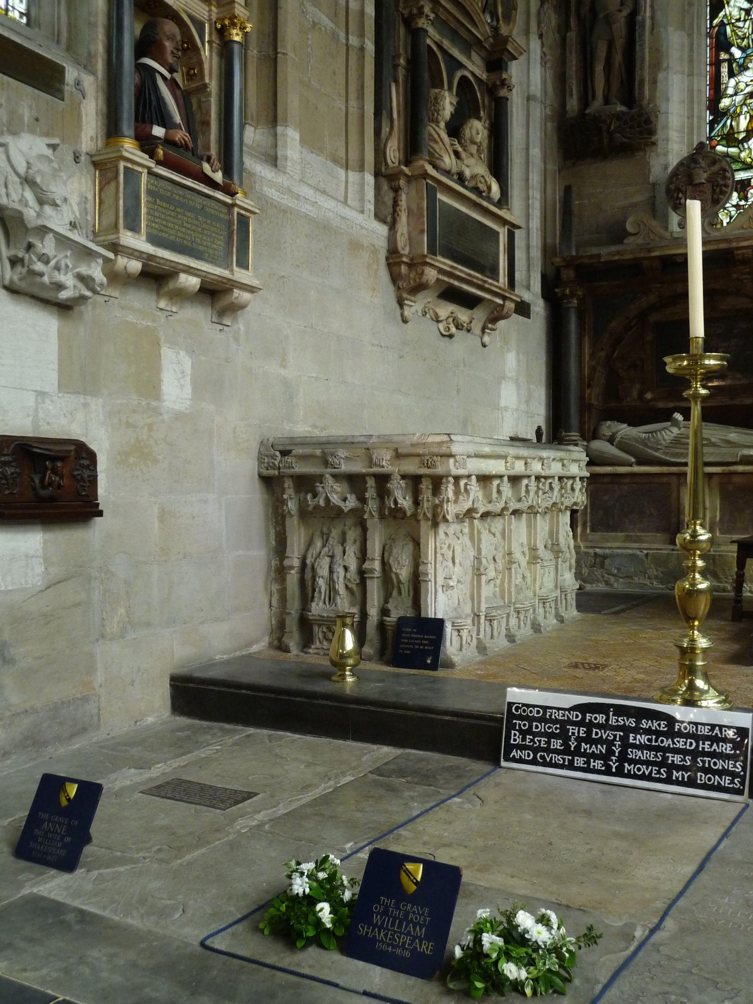 epitaffi famosi shakespeare
