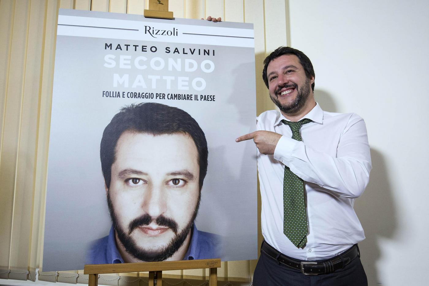Il libro di Matteo Salvini: 'Secondo Matteo – Follia e coraggio per cambiare il Paese'