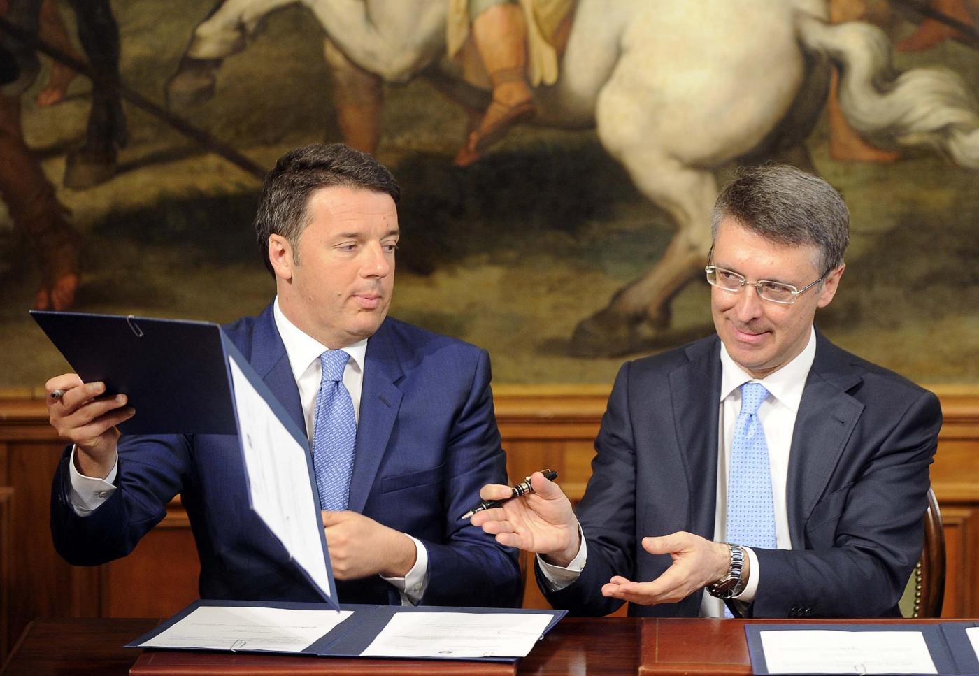 Firma del protocollo di vigilanza sulle procedure per la bonifica delle aree di Bagnoli
