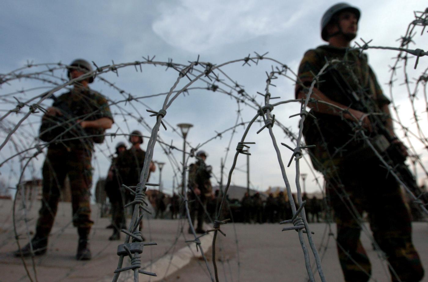 militari in kosovo