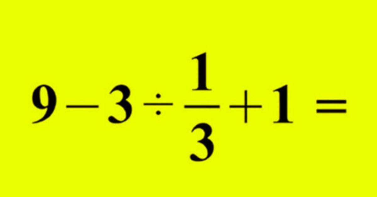 operazione matematica