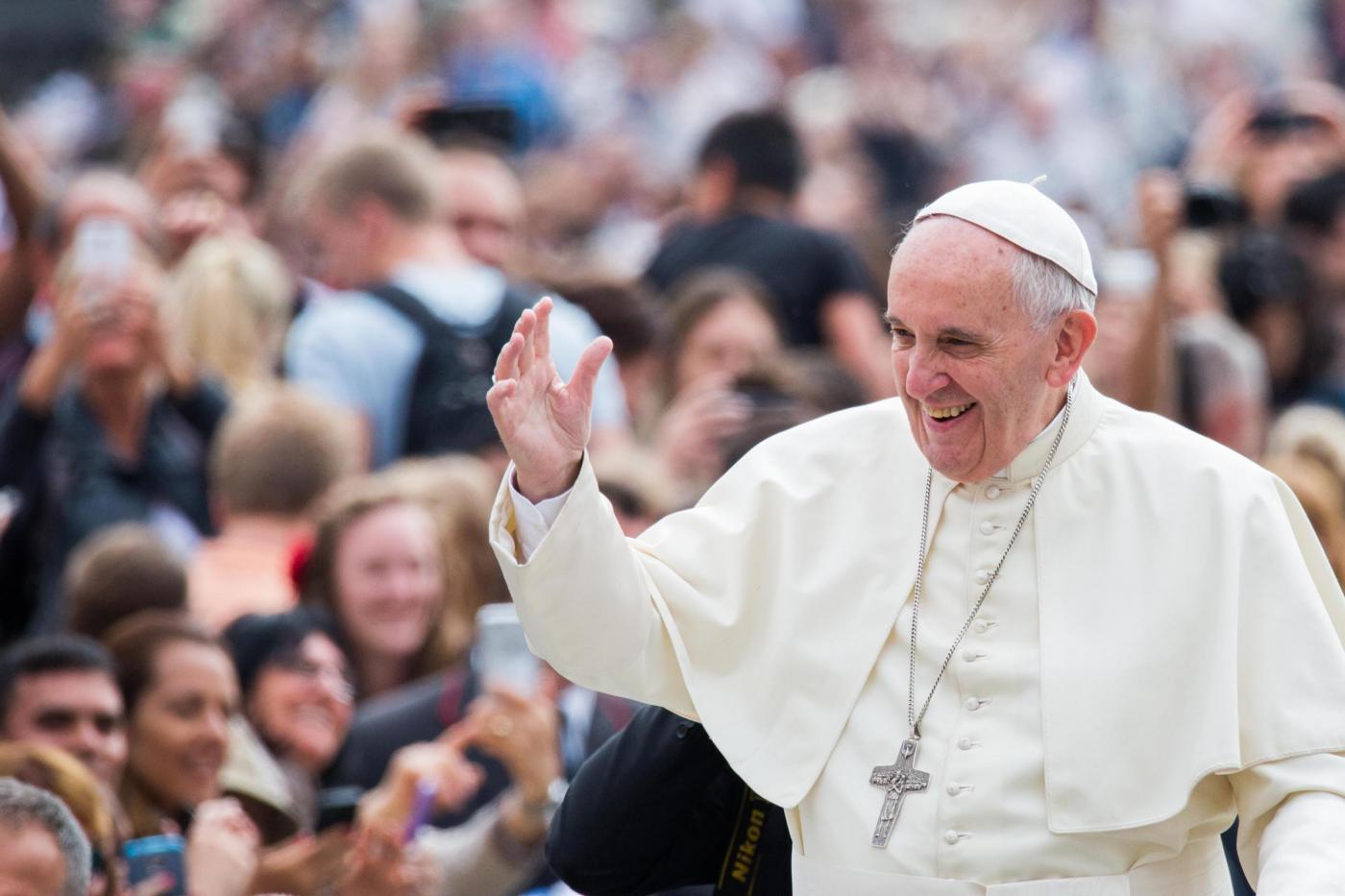 Papa Francesco in udienza Generale del Mercoledì in Piazza San Pietro