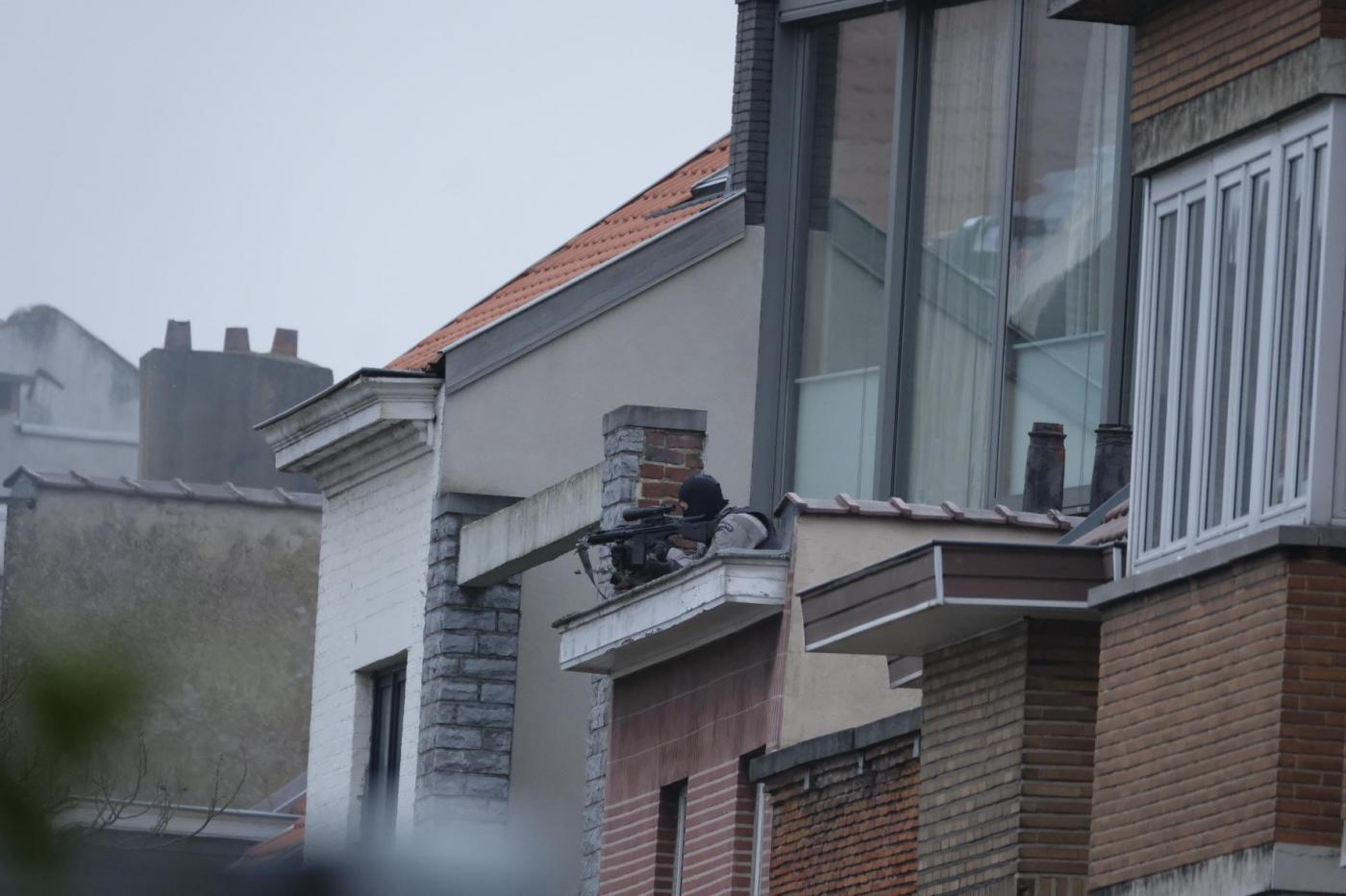 Blitz anti terrorismo a Bruxelles