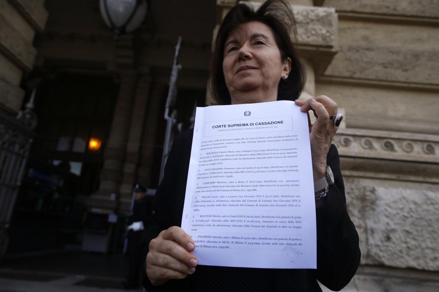 Unioni civili, referendum abrogativo in Cassazione