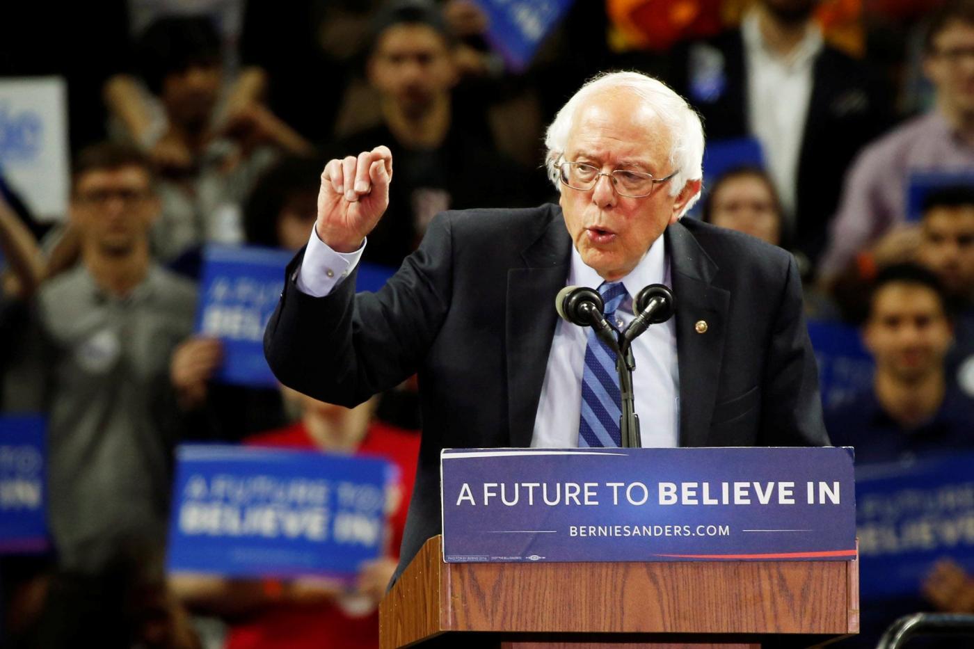 Presidenziali Usa, la campagna di Sanders nel New Jersey