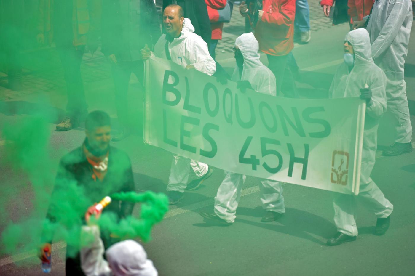 Belgio, scontri al corteo anti austerità