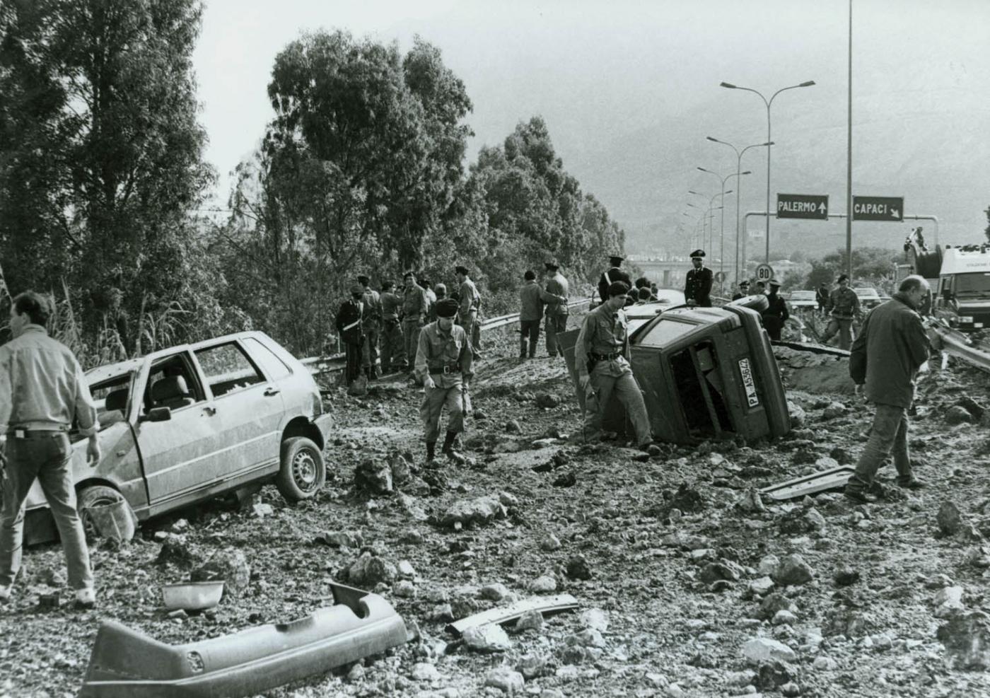 strage di capaci, maggio 1992