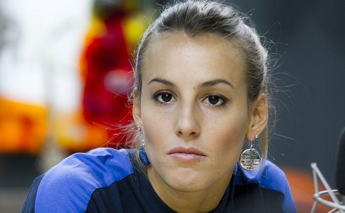 Tania Cagnotto vince l'oro nel 2004 a Madrid