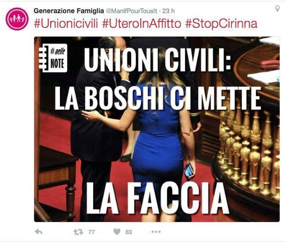 tweet boschi cirinna