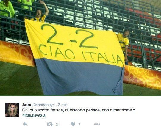 Italia vs Svezia Euro 2016: il bar sport su Facebook e Twitter