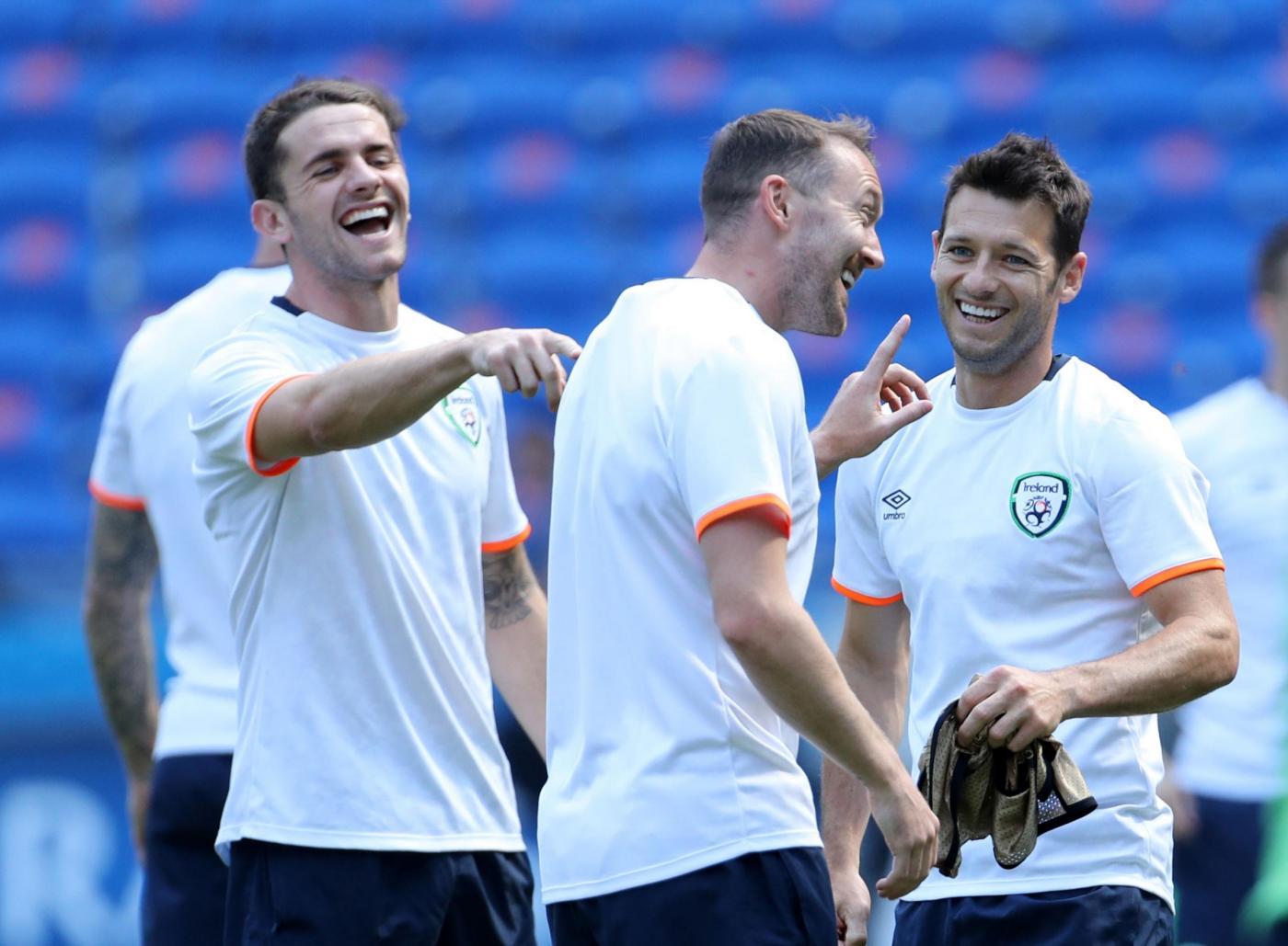 Allenamento dell'Irlanda   UEFA Euro 2016