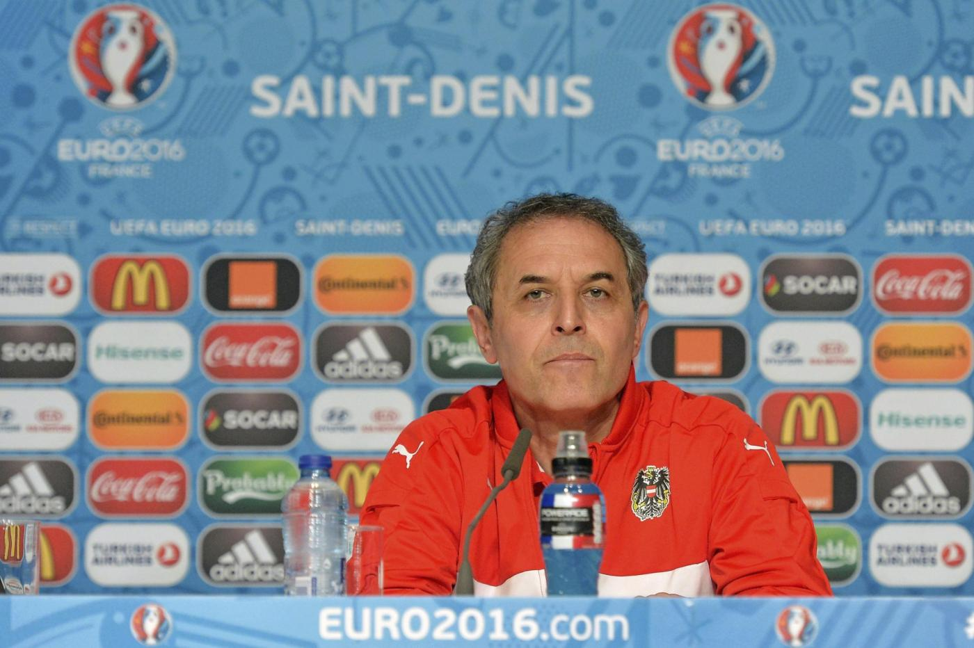 Euro 2016   Austria conferenza stampa