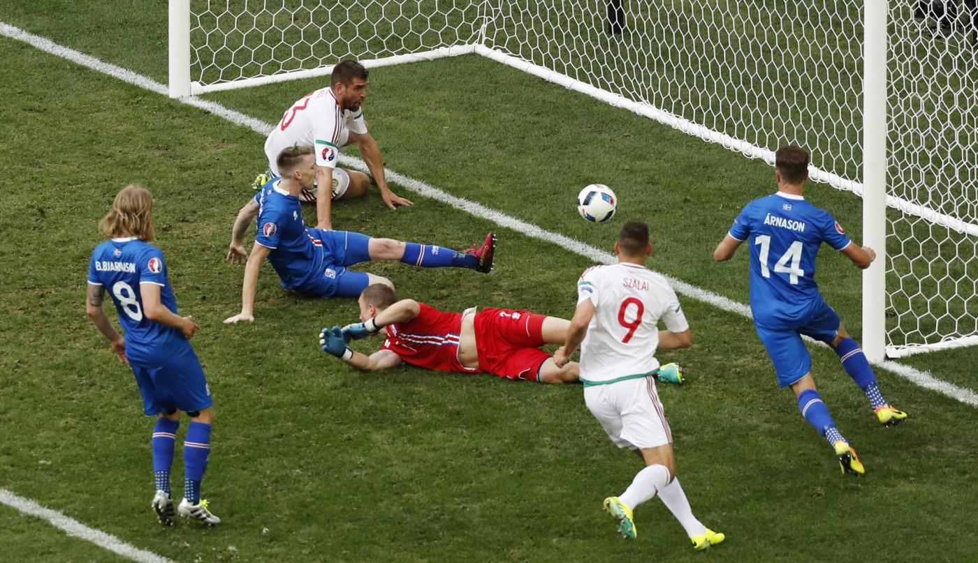 Euro 2016, Islanda Ungheria