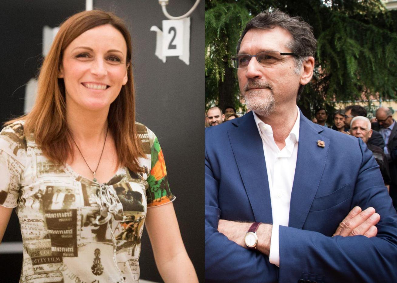Lucia Borgonzoni e Virginio Merola