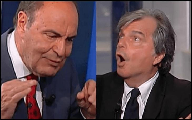 Brunetta Vespa litigio Porta a Porta