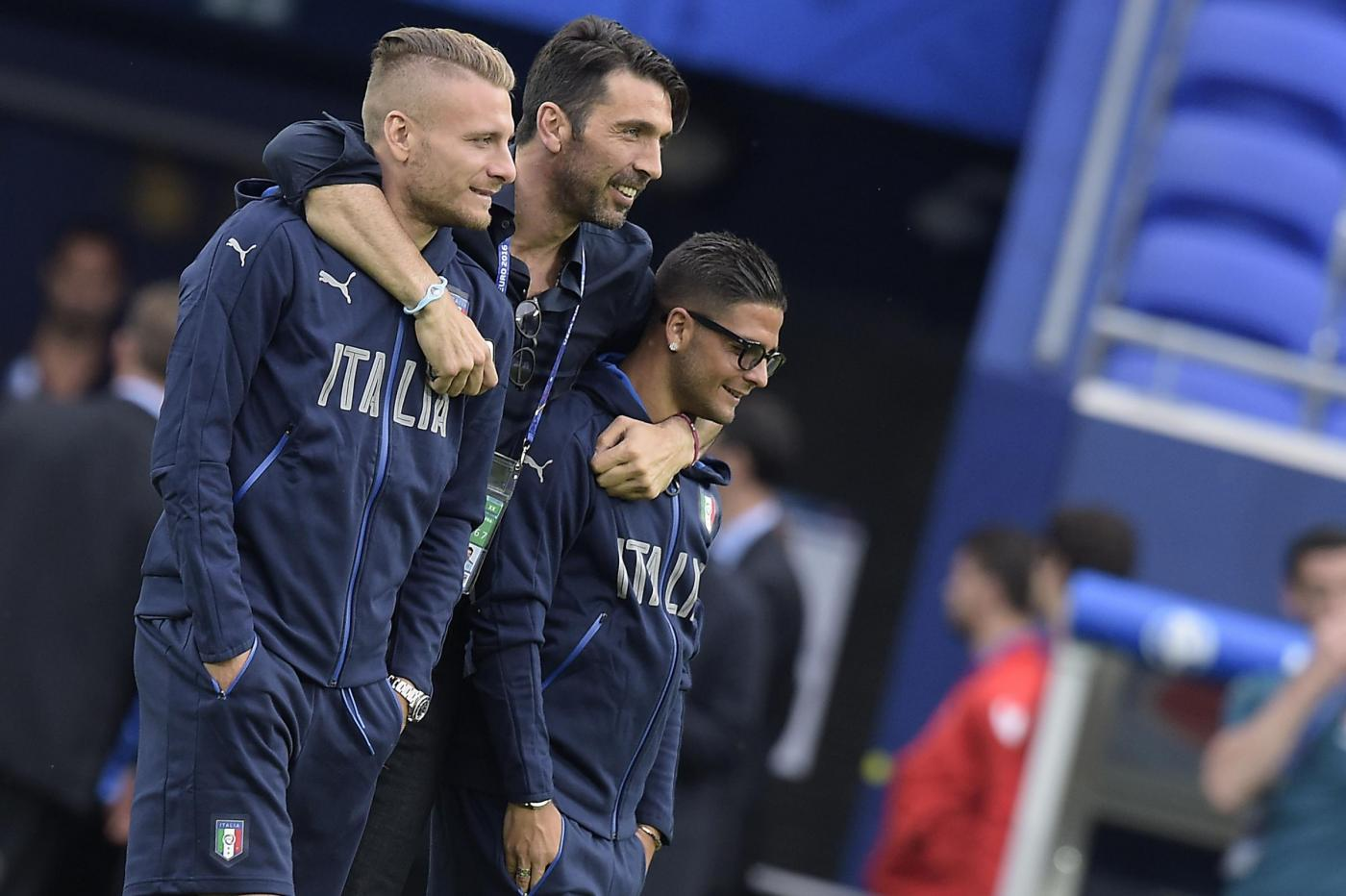 Euro 2016, l'Italia in campo a Lione alla vigilia di Belgio Italia