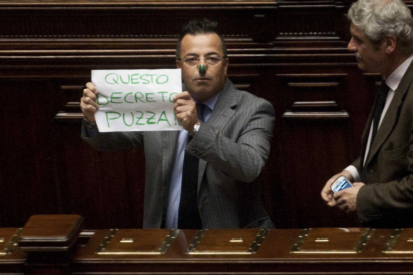 Camera decreto salva Roma fiducia